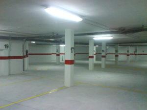 garaje desde plaza 17 en calle