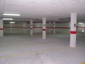 garaje desde plaza 9 al fondo