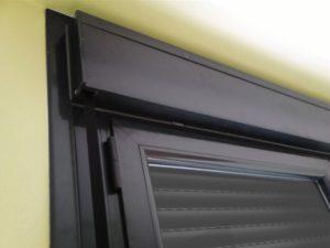 ventanas negras con rotura de puente termico