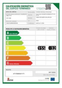 atico d etiqueta energetica