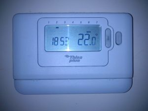 termostato digital programable para calefaccion
